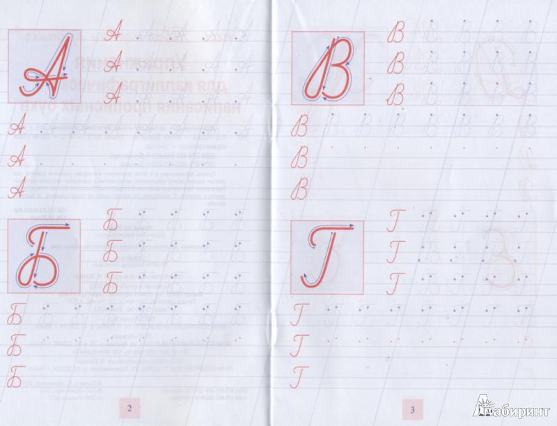Иллюстрация 1 из 8 для Упражнения для каллиграфического написания прописных букв   Лабиринт - книги. Источник: ЕККА