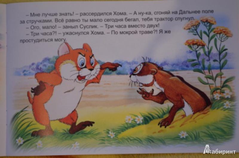 Иллюстрация 7 из 47 для Как Хома на дальнее поле за рощу ходил - Альберт Иванов | Лабиринт - книги. Источник: Moonlight2