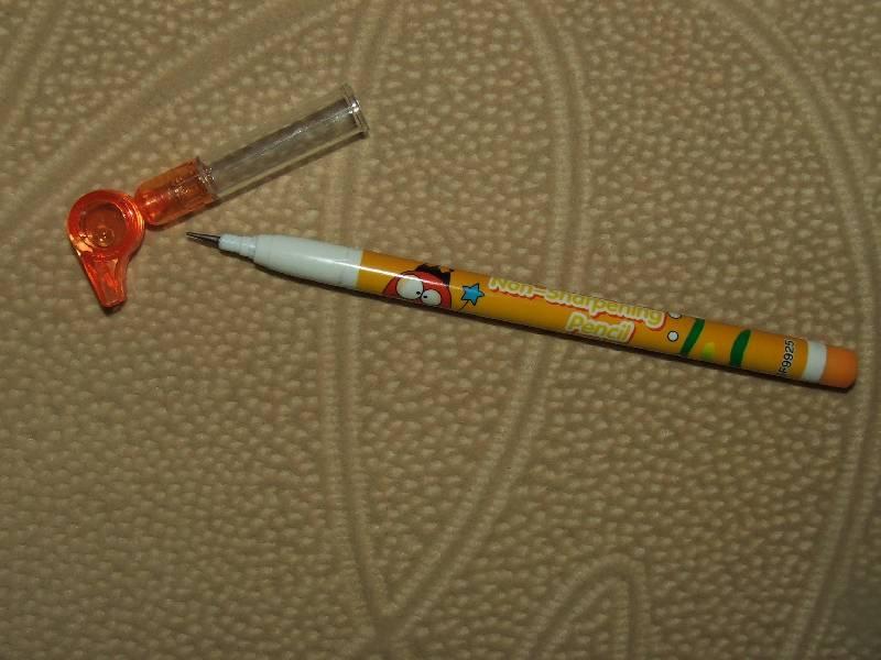 Иллюстрация 8 из 9 для Карандаш черногрифельный Lantu переставляющийся со свистком   Лабиринт - канцтовы. Источник: Сороконожка