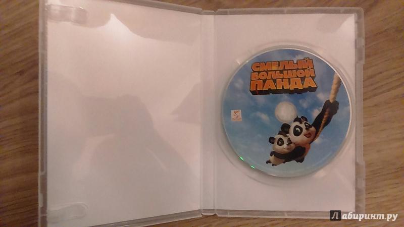 Иллюстрация 1 из 13 для Смелый большой Панда (DVD) - Грег Манваринг | Лабиринт - Источник: Нюта