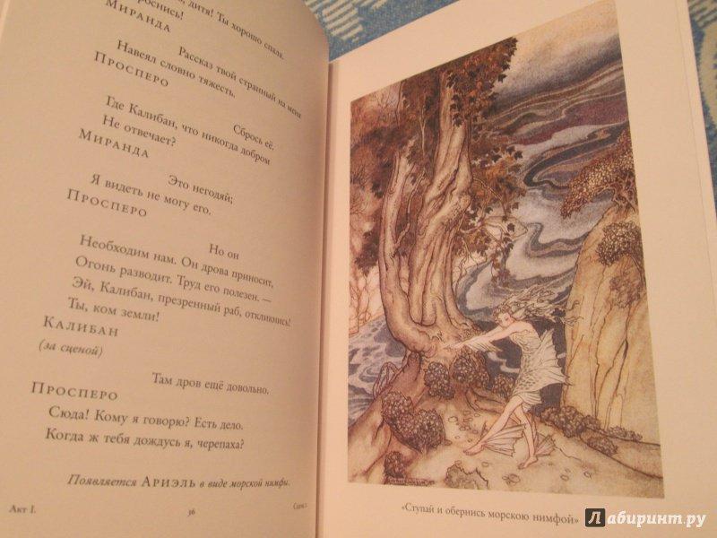 Иллюстрация 43 из 72 для Буря - Уильям Шекспир   Лабиринт - книги. Источник: NiNon