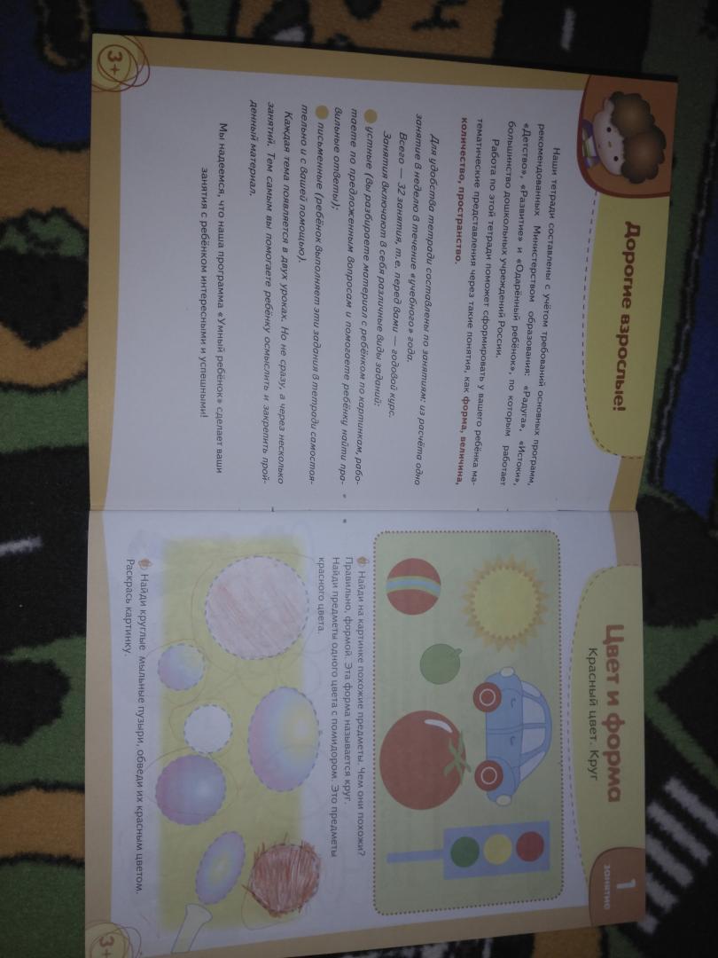 Иллюстрация 50 из 50 для Я учусь считать. Рабочая тетрадь. 3+ - Т. Давыдова   Лабиринт - книги. Источник: Солнышко Светка