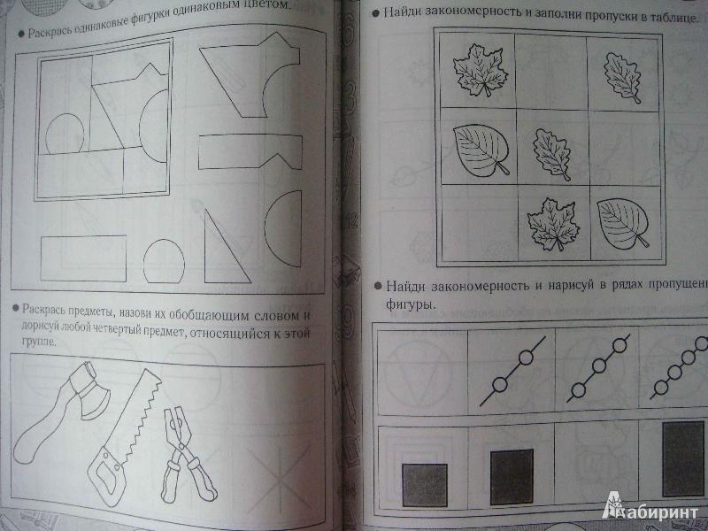Иллюстрация 20 из 23 для Я развиваю логику. Пособие для детей 3-6 лет - Гаврина, Кутявина, Топоркова, Щербинина   Лабиринт - книги. Источник: Glan