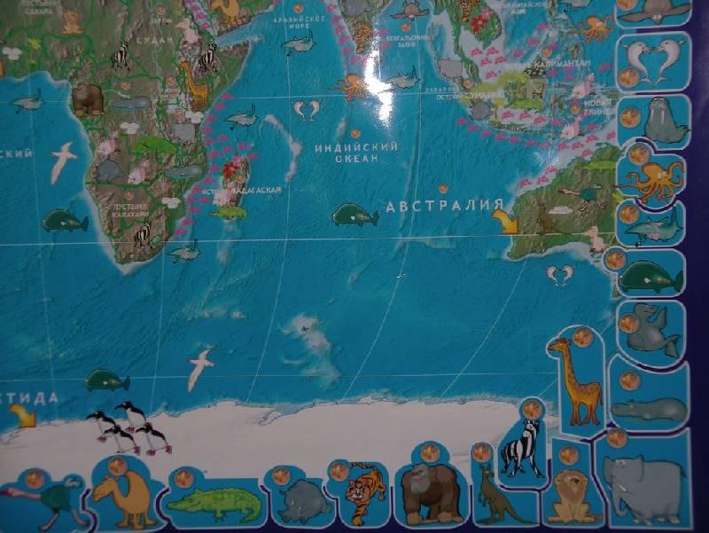 Иллюстрация 17 из 17 для Говорящая карта мира (6249) | Лабиринт - игрушки. Источник: Мариста