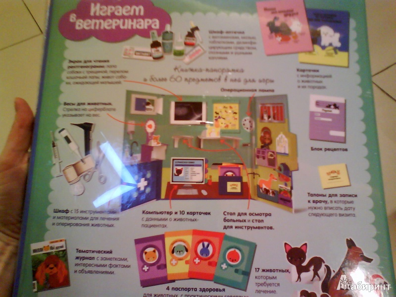 Иллюстрация 4 из 19 для Играем в ветеринара - Анн-Софи Боманн | Лабиринт - книги. Источник: Мила