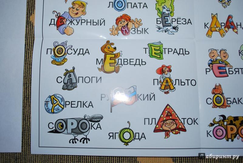 Картинка словаря по алфавиту