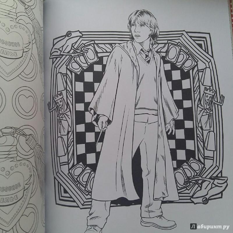 Иллюстрация 38 из 60 для Гарри Поттер. Волшебники и где их ...