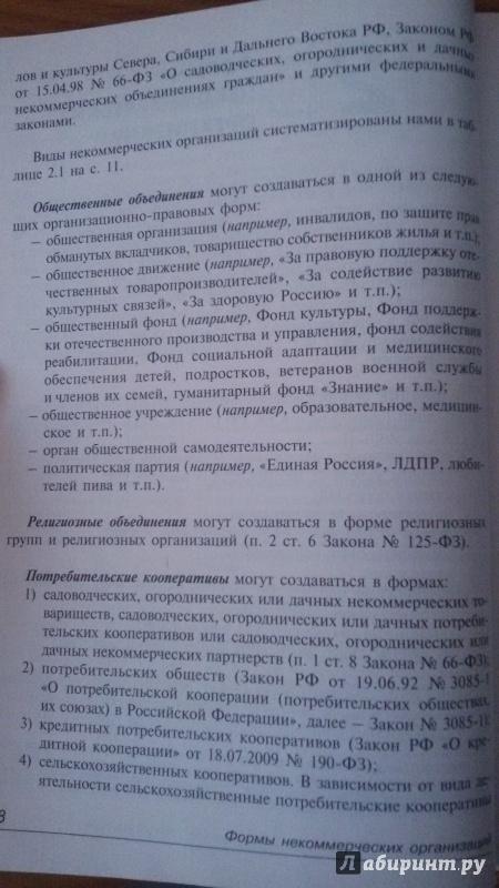 Иллюстрация 8 из 9 для Некоммерческие организации: правовое регулирование, бухгалтерский и налоговый учет | Лабиринт - книги. Источник: Nagato
