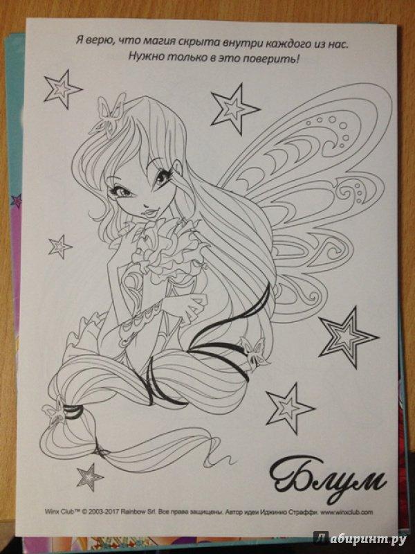 Иллюстрация 5 из 21 для WINX. Папка-раскраска. В стиле ...