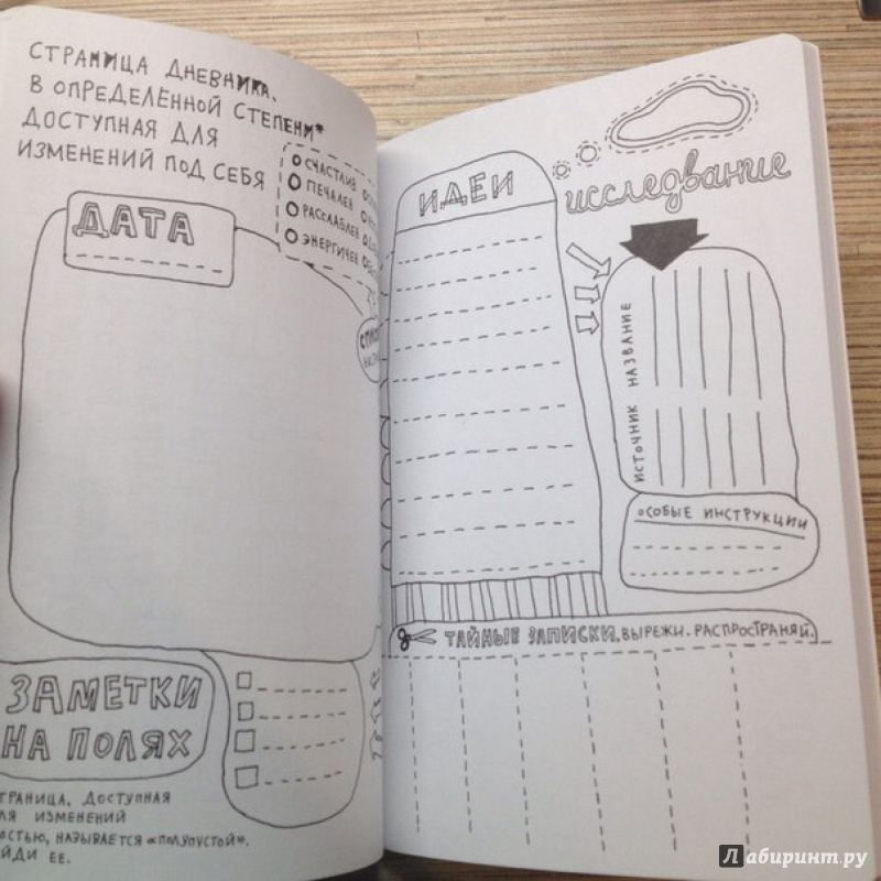 Антиежедневник идеи картинки