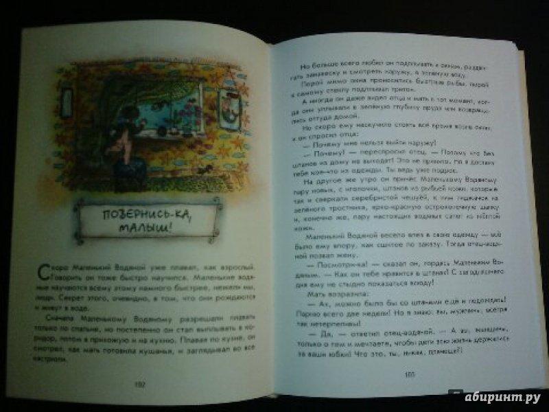 Иллюстрация 41 из 69 для Маленькая Баба-Яга. Маленький Водяной. Маленькое Привидение - Отфрид Пройслер | Лабиринт - книги. Источник: Маликова  Маргарита