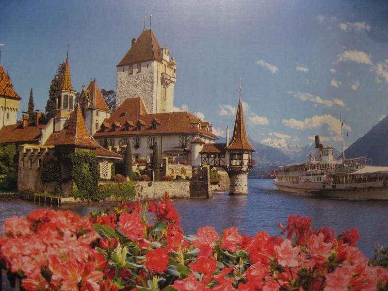 Иллюстрация 1 из 6 для Puzzle-500: Замок, Швейцария (В-51106) | Лабиринт - игрушки. Источник: Krofa