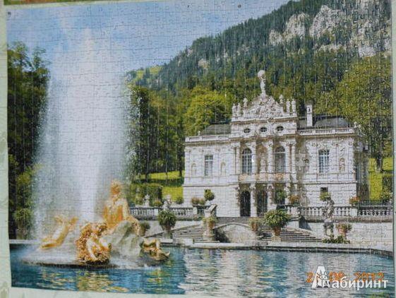 Иллюстрация 1 из 4 для Puzzle-1000: Дворец. Германия (С-101542) | Лабиринт - игрушки. Источник: Klementinka