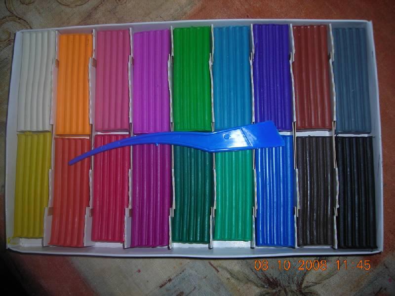 Иллюстрация 20 из 25 для Пластилин Мультики 18 цветов (280028) | Лабиринт - игрушки. Источник: Плахова  Татьяна