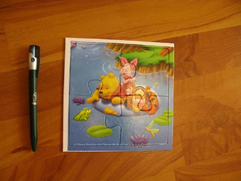 """Иллюстрация 1 из 15 для Step Puzzle 4 в 1 """"Медвежонок Винни"""" (92303)   Лабиринт - игрушки. Источник: kootova"""