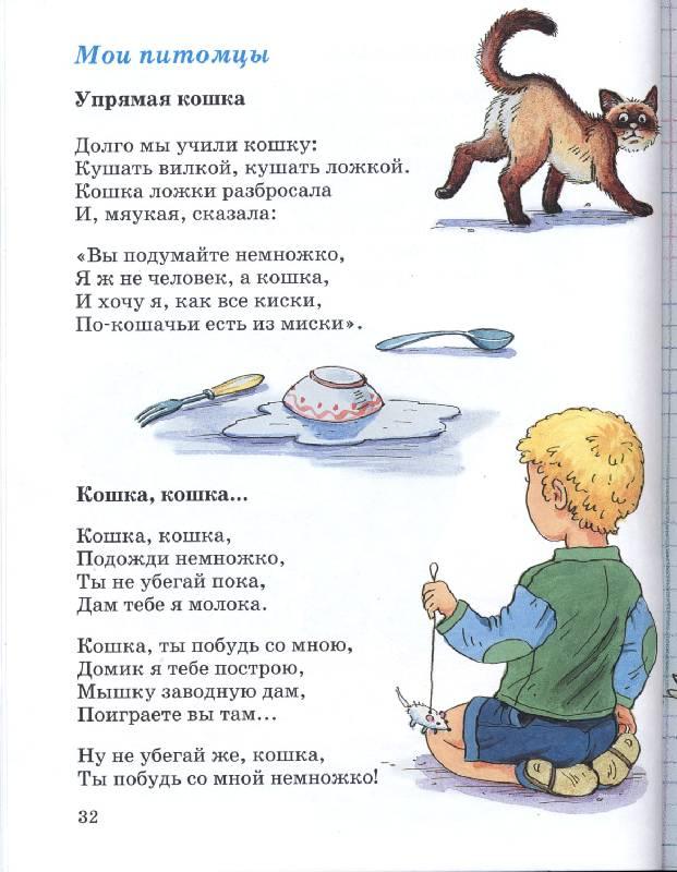 Смешные стишки картинки для детей