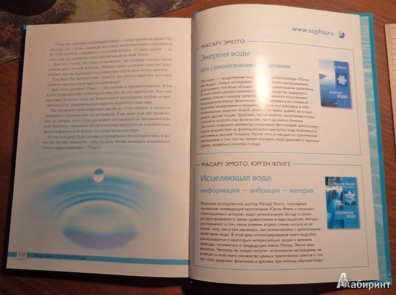 Иллюстрация 19 из 21 для Послания воды: Тайные коды кристаллов льда - Масару Эмото | Лабиринт - книги. Источник: Tina0629