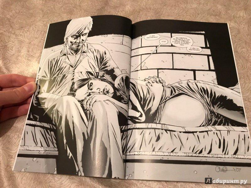 Иллюстрация 31 из 31 для Ходячие Мертвецы. Том 7. Затишье перед... - Роберт Киркман | Лабиринт - книги. Источник: Jew-Bear