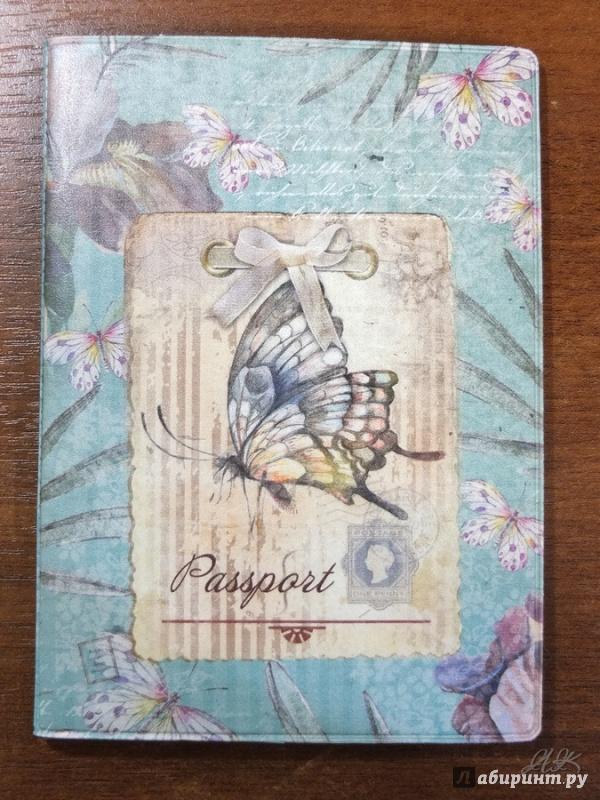 Иллюстрация 7 из 9 для Обложка для паспорта (32387) | Лабиринт - канцтовы. Источник: Firefly