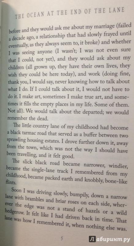 Иллюстрация 10 из 23 для Ocean at the End of the Lane - Neil Gaiman | Лабиринт - книги. Источник: Tatiana Sheehan