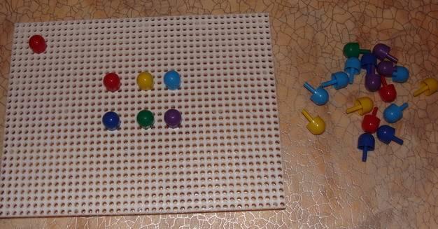 Иллюстрация 1 из 5 для Мозаика 60 элементов, 6 цветов (00963) | Лабиринт - игрушки. Источник: Machaon