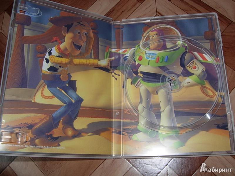Иллюстрация 3 из 5 для История игрушек (DVD) - Джон Лассетер | Лабиринт - Источник: Золотарев  Александр Владимирович