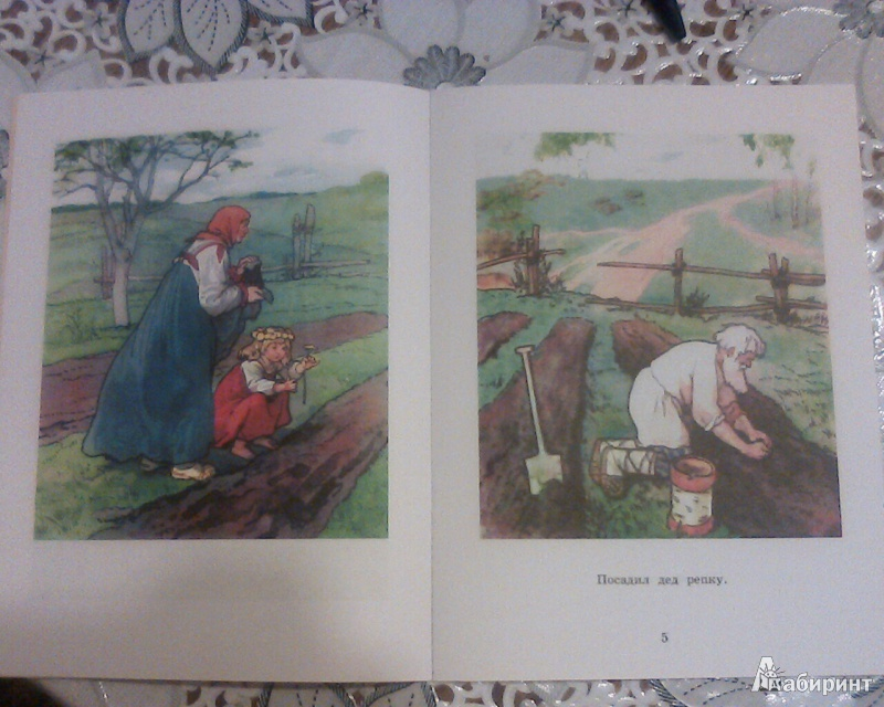 Иллюстрация 4 из 15 для Репка   Лабиринт - книги. Источник: Вам письмо