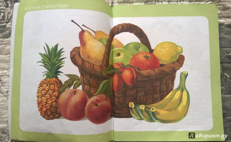 ознакомление с овощами фруктами в картинках готовить пирог тестом