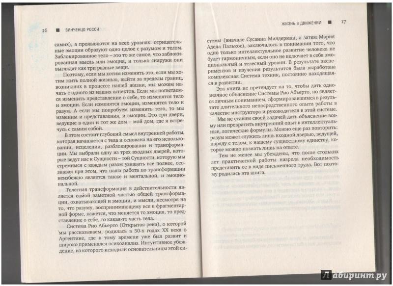 Иллюстрация 5 из 12 для Жизнь в движении. Система Rio Abierto - Винченцо Росси   Лабиринт - книги. Источник: Столетняя  Ольга