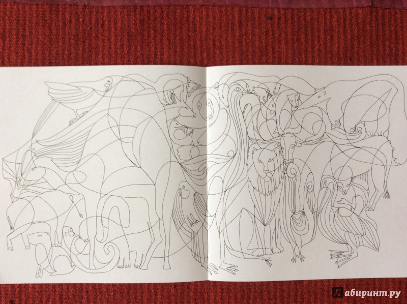 Иллюстрация 10 из 27 для Раскраска. Прятки-загадки ...