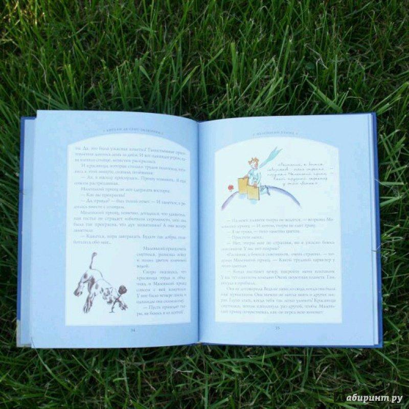 Иллюстрация 37 из 100 для Маленький принц - Антуан Сент-Экзюпери | Лабиринт - книги. Источник: Кошка_Мёбиуса
