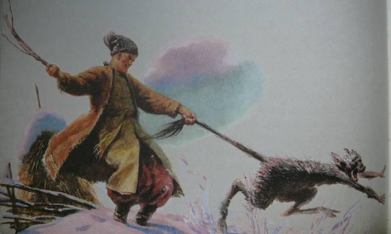 Иллюстрация 46 из 94 для Вечера на хуторе близ Диканьки - Николай Гоголь | Лабиринт - книги. Источник: Аврора