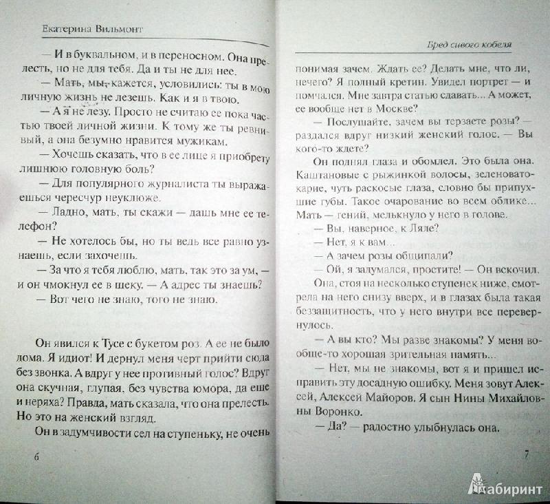 Иллюстрация 5 из 6 для Бред сивого кобеля - Екатерина Вильмонт | Лабиринт - книги. Источник: Леонид Сергеев