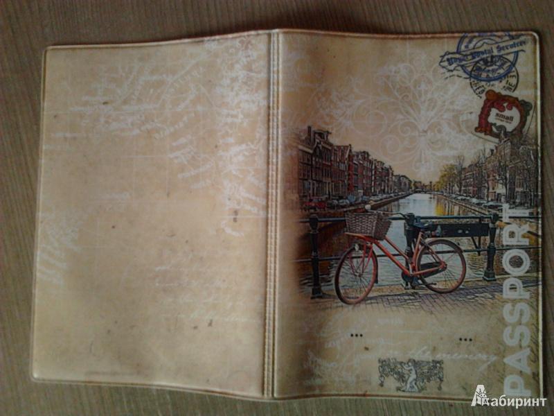 Иллюстрация 3 из 17 для Обложка для паспорта (32401)   Лабиринт - канцтовы. Источник: Анастасия  Назарова
