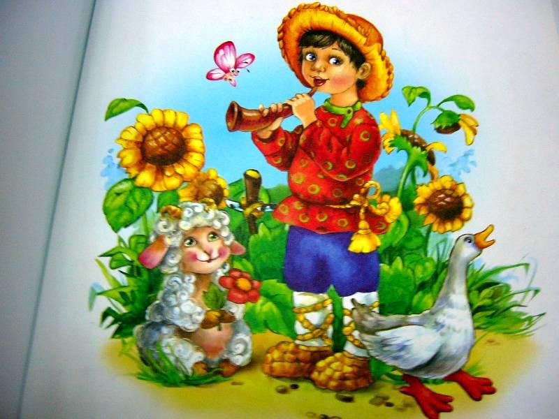Картинки к потешкам для дошкольников