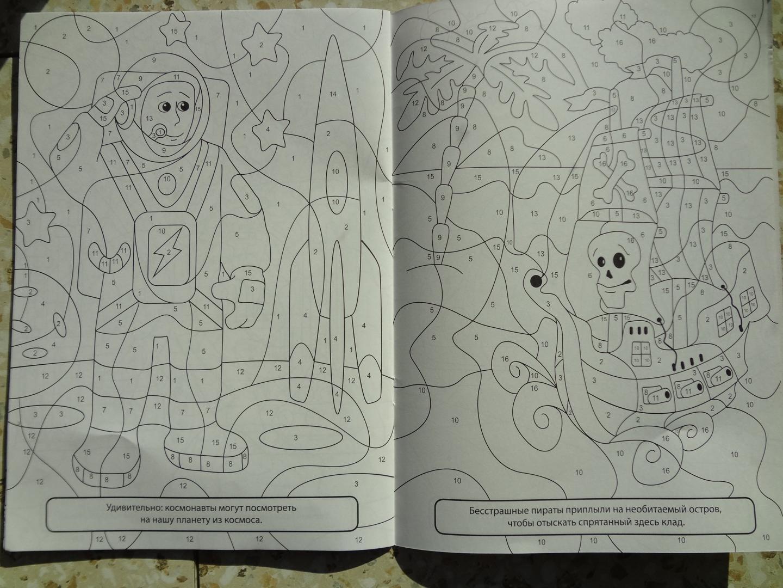 Иллюстрация 5 из 10 для Раскраска по номерам. Для ...