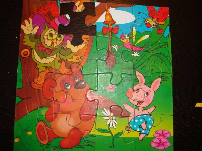 Иллюстрация 1 из 4 для Maxi Puzzle. 16 элементов. Винни-Пух (042) | Лабиринт - игрушки. Источник: Ogha