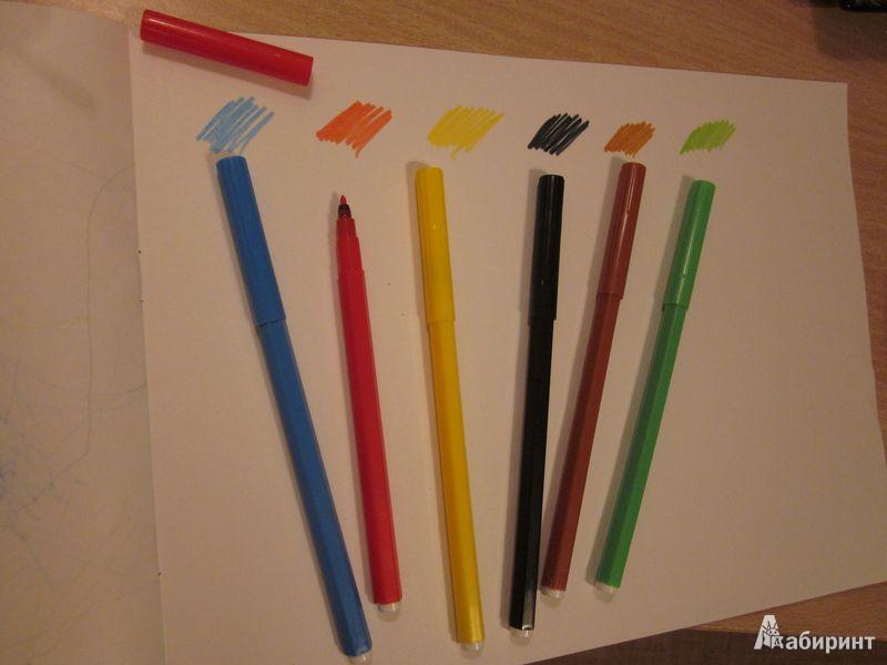 Иллюстрация 1 из 5 для Фломастеры 6 цветов (7790/6 TP) | Лабиринт - канцтовы. Источник: Мeдвeдицa