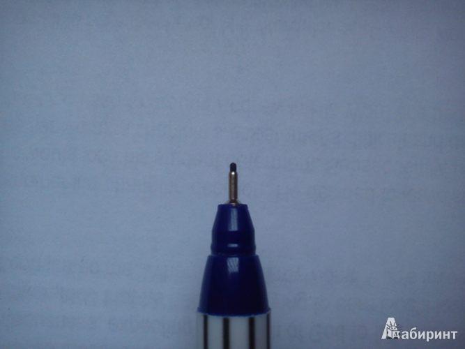 Иллюстрация 1 из 2 для Офислайнер EF 0,3мм синий (89/3) | Лабиринт - канцтовы. Источник: Pokayka