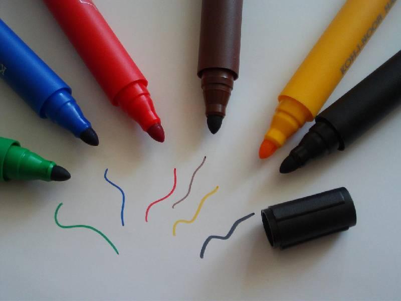 Иллюстрация 1 из 3 для Фломастеры ароматические 6 цветов (7401/6) | Лабиринт - канцтовы. Источник: Терра