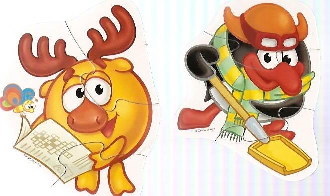 Иллюстрация 1 из 6 для Смешарики. Забавные Смешарики | Лабиринт - игрушки. Источник: Бойцова  Ольга Евгеньевна