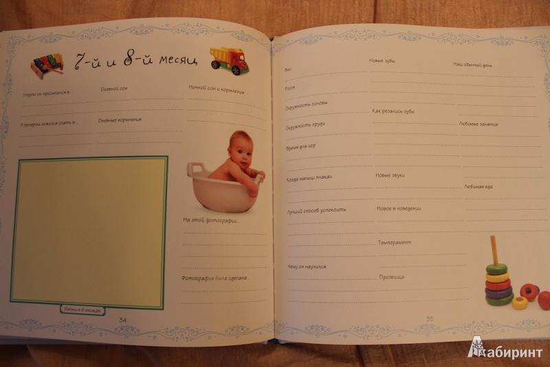 Картинки наш малыш все-все-все про первый год