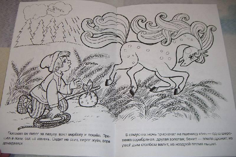 Иллюстрация к сказке сивка бурка картинки