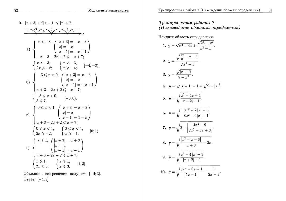 Иллюстрация 14 из 16 для Дробно-рациональные неравенства - Александр Шахмейстер | Лабиринт - книги. Источник: Mezzopiano