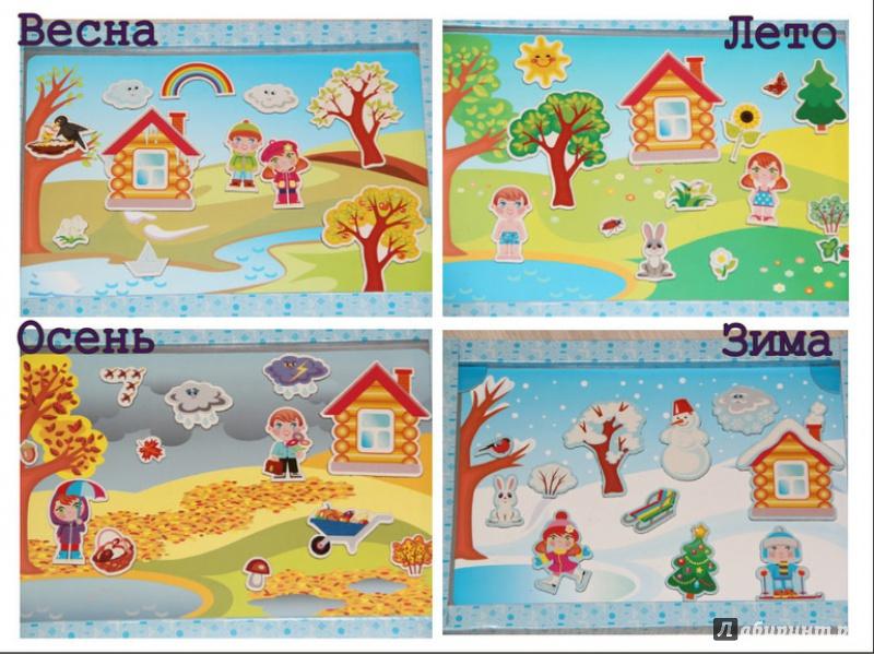 Детские картинки времена года картинки для детей
