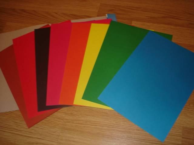 Иллюстрация 1 из 2 для Бумага цветная, 8 листов (FKIN-6408-VM)   Лабиринт - канцтовы. Источник: Настасья