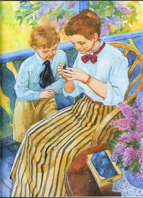 иллюстрации к произведениям русских писателей картинки выполнении