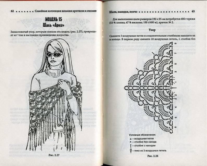 Иллюстрация 4 из 24 для Шали, пончо, накидки | Лабиринт - книги. Источник: Machaon