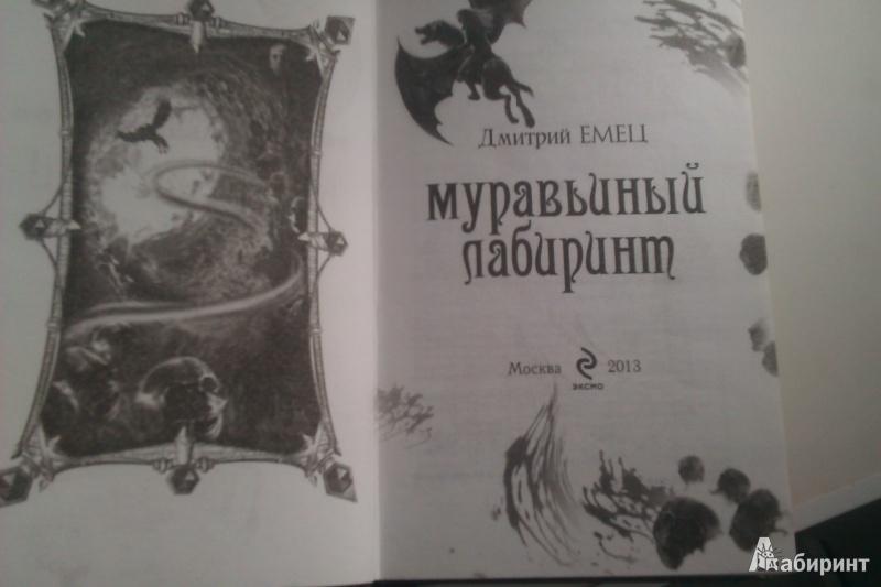 Иллюстрация 5 из 14 для Муравьиный лабиринт - Дмитрий Емец | Лабиринт - книги. Источник: Шерстнева  Валерия