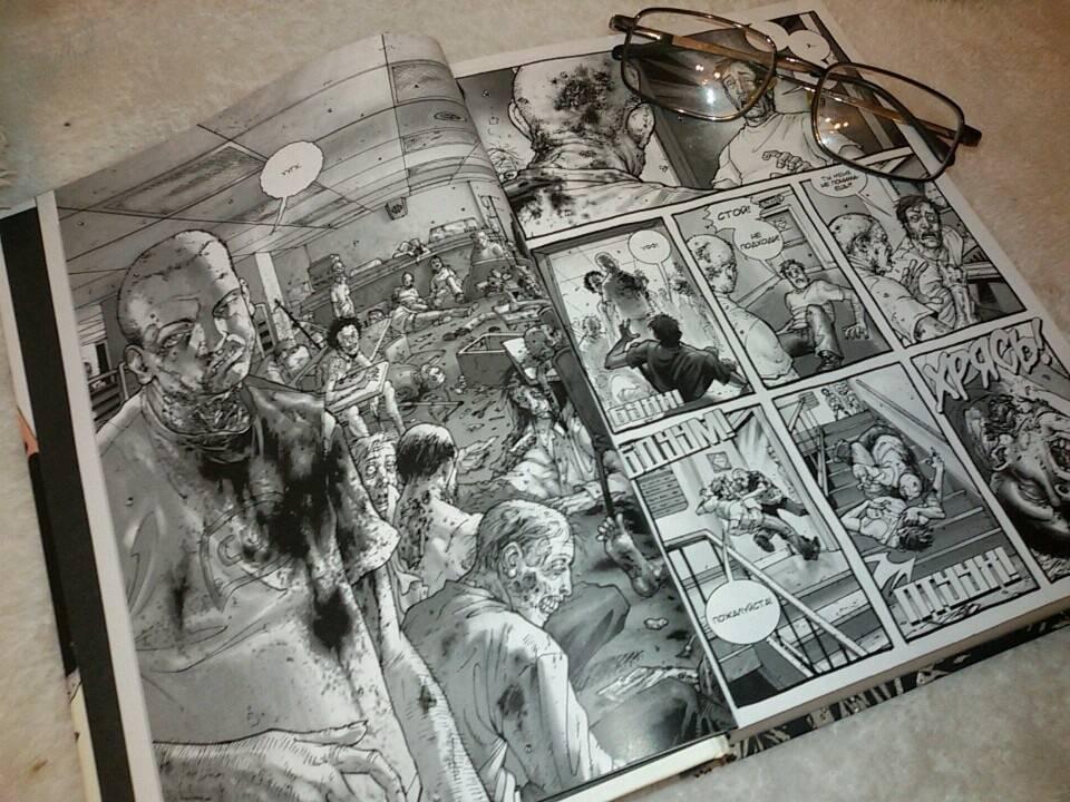 Иллюстрация 64 из 73 для Ходячие мертвецы. Полное собрание. Том 1 - Роберт Киркман | Лабиринт - книги. Источник: Моисеенко Дмитрий